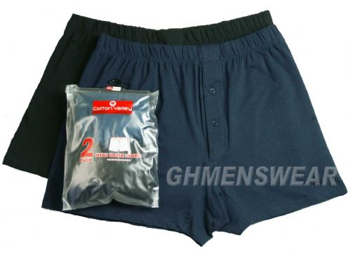2 Pack Cotton Valley Jersey Knit  Boxer Shorts